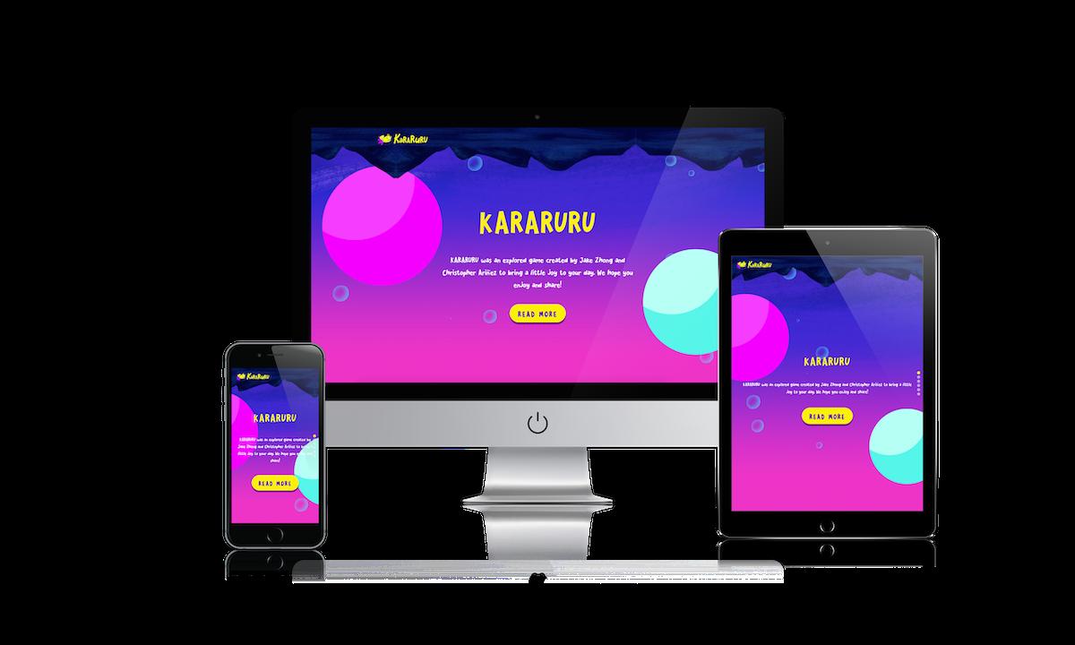 Kararuru Website Cover