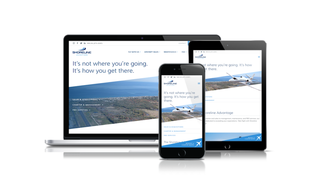 Shoreline Aviation Cover
