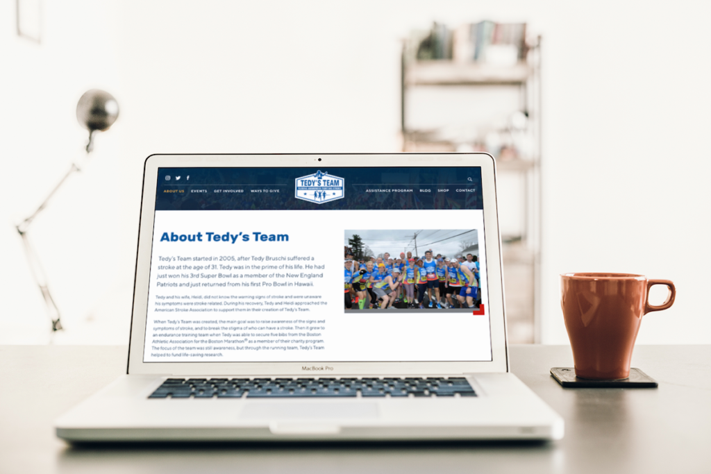 Tedy's Team Website