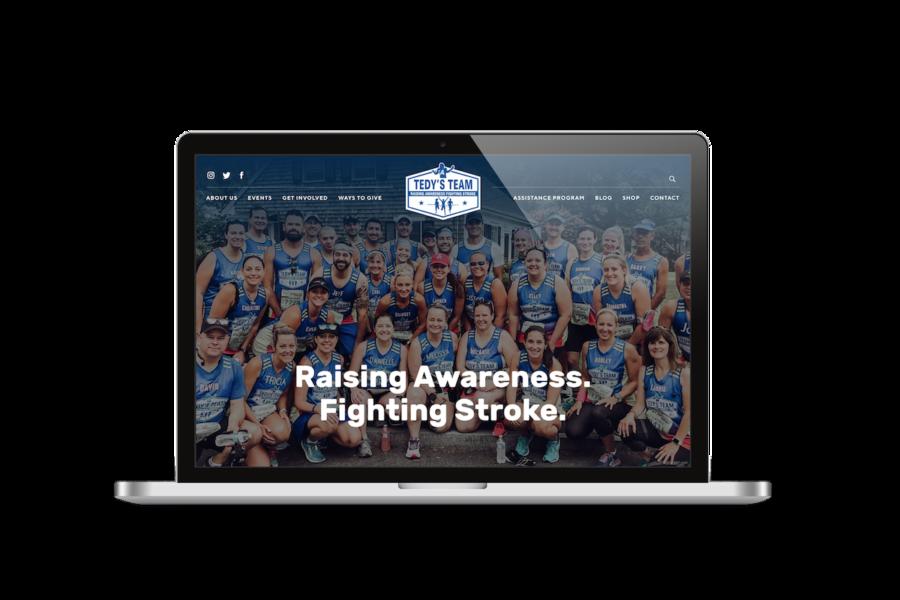 Tedy's Team Website Cover