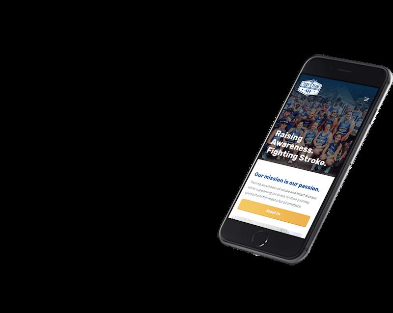 Tedy's Team Website Phone