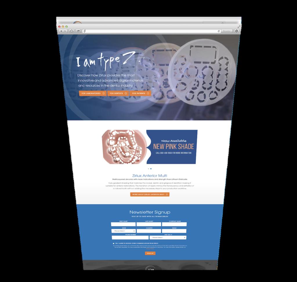 Zirlux Website 1