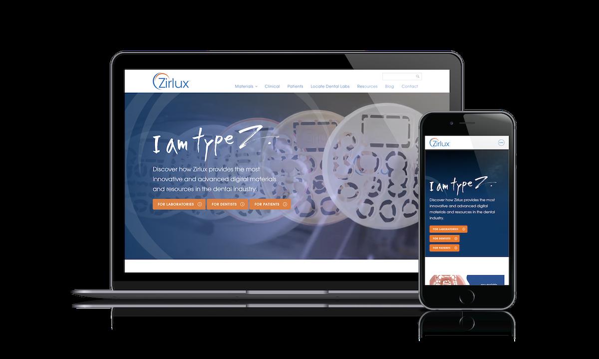 Zirlux Website Cover